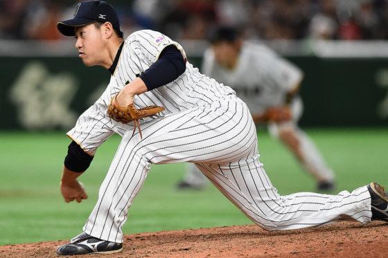 パドレスでは中継ぎとして期待される牧田和久【写真:Getty Images】