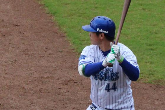 アジアウインターリーグに参加したDeNA・佐野【写真:広尾晃】