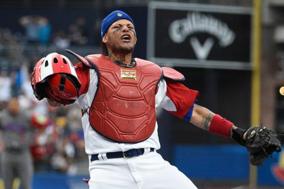 WBCではプエルトリコ代表としてチームを牽引したヤディアー・モリーナ【写真:Getty Images】
