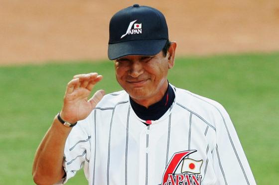 北京五輪では日本代表監督を務めた星野仙一氏【写真:Getty Images】