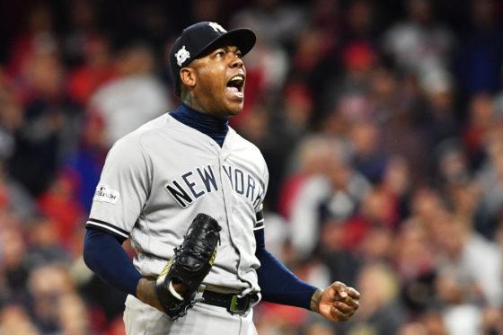ヤンキース・チャプマン【写真:Getty Images】