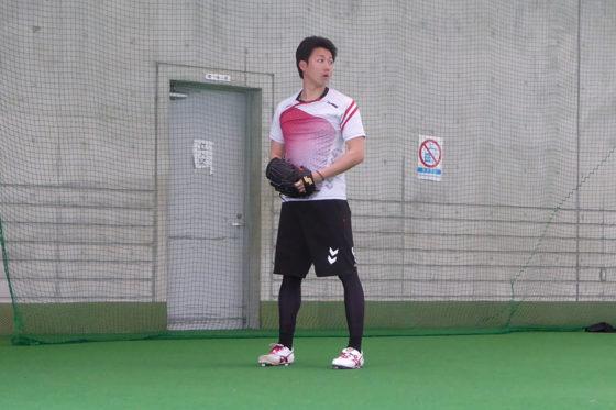 楽天のベテラン右腕・青山浩二【写真:佐藤直子】