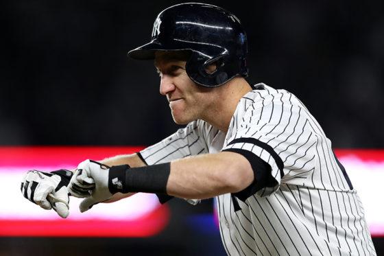 ヤンキースのトッド・フレイジャー【写真:Getty Images】
