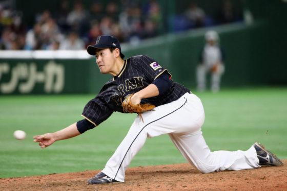 パドレスへのポスティング移籍が発表された牧田和久【写真:Getty Images】