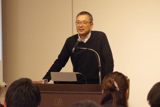 「パ・リーグ ビジネススクール(PBS)」で講師を務めたのはJリーグチェアマン・村井満氏【写真:(C)PLM】