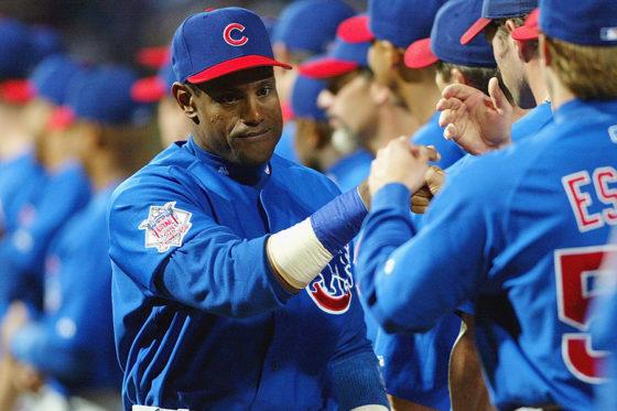カブスでは強打者として活躍したサミー・ソーサ【写真:Getty Images】