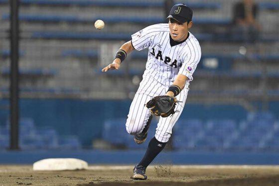 2016年にも大学代表として侍ジャパンに選出されていた阪神・大山悠輔【写真:Getty Images】