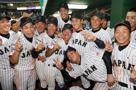 第11回BFA U-18アジア選手権大会では優勝を果たした日本【写真:Getty Images】