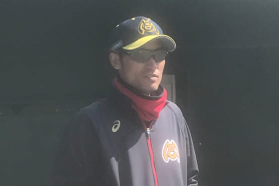 福井ミラクルエレファンツの投手コーチに就任した福沢卓宏氏