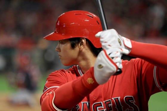 本拠地デビュー戦でメジャー初本塁打を放ったエンゼルス・大谷翔平【写真:Getty Images】