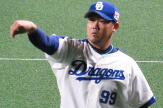松坂大輔: 中日・松坂大輔、初先発は5回3失点で負け投手 「勝ちに繋げ