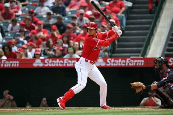 2試合連続となる本塁打を含む2安打を記録したエンゼルス・大谷翔平【写真:西山和明】