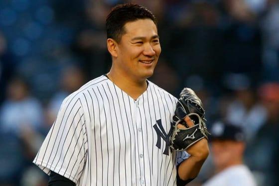 7回途中1失点の好投で3勝目の白星を挙げたヤンキース・田中将大【写真:Getty Images】