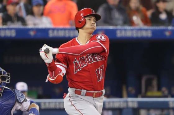 4打数1安打2打点1盗塁の活躍をみせたエンゼルス・大谷翔平【写真:Getty Images】