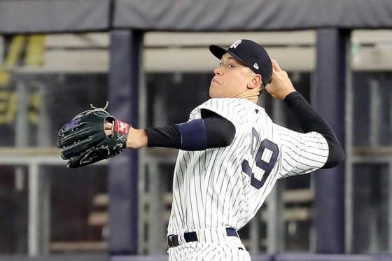 ヤンキースのアーロン・ジャッジ【写真:Getty Images】