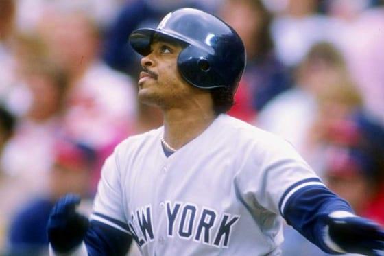 ヤンキース時代のジェシー・バーフィールド【写真:Getty Images】