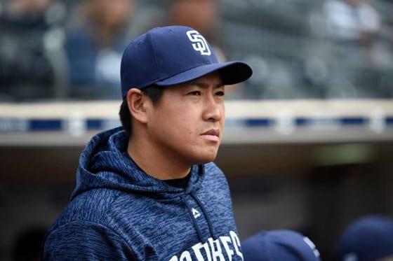 現在はパドレス傘下に所属している牧田和久【写真:Getty Images】