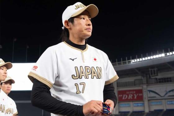 女子ソフトボール日本代表右腕・上野由岐子【写真:荒川祐史】