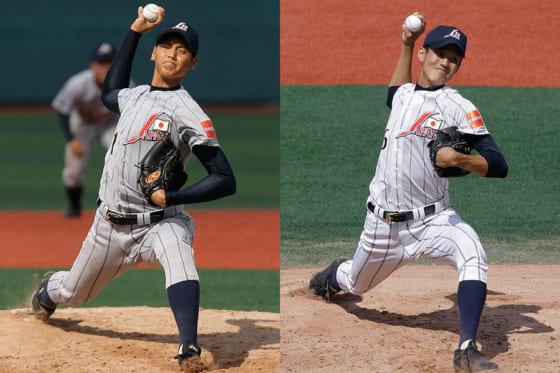 2012年AAA世界野球選手権での大谷翔平(左)と藤浪晋太郎【写真:Getty Images】
