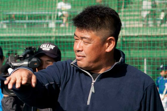 現在は静岡・浜松開誠館高の非常勤コーチを務めている中村紀洋氏【写真:岩本健吾】