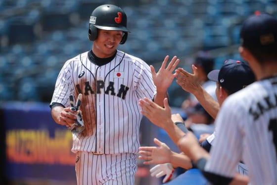 2安打1盗塁2得点と活躍した島田海吏【写真:Getty Images】