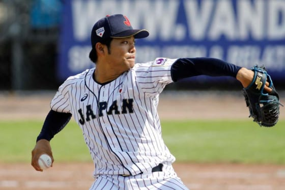 西武がドラフト1位で単独指名した日本体育大学・松本航【写真:Getty Images】