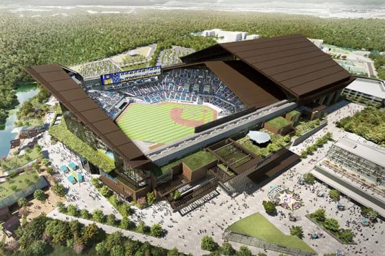 日本ハムは新球場の名称が「ES CON FIELD HOKKAIDO (エスコン フィールド HOKKAIDO)」に決定したと発表【画像提供:北海道日本ハムファイターズ】