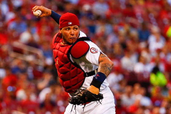 日米野球に出場予定となっているヤディアー・モリーナ【写真:Getty Images】