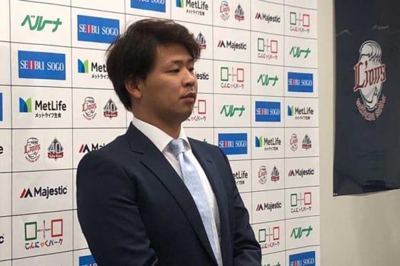 FA宣言を表明した浅村栄斗【写真:岩国誠】