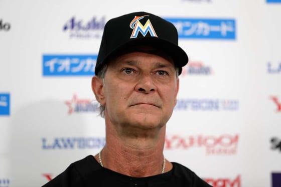 MLB選抜のドン・マッティングリー監督【写真:Getty Images】