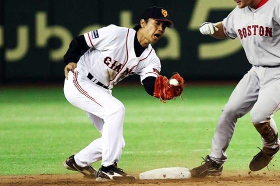 現役時代は巨人・日本ハムでプレーした富山GRNサンダーバーズ・二岡智宏監督【写真:Getty Images】