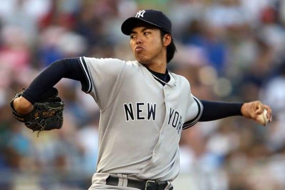ヤンキース時代の井川氏【写真:Getty Images】