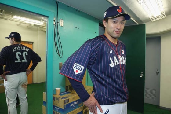 日米野球で圧巻の活躍を見せた侍ジャパンのソフトバンク・柳田悠岐【写真:Getty Images】