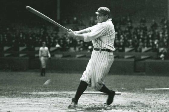野球史に名を刻むベーブ・ルース【写真:Getty Images】