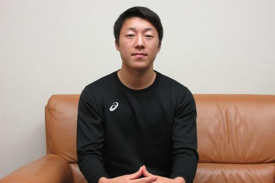 立教大での1年目を振り返った川端健斗【写真:沢井史】