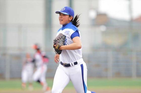 愛知ディオーネ・森若菜【写真提供:日本女子プロ野球リーグ】