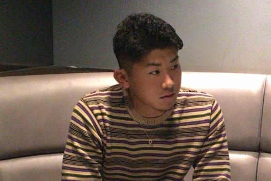 インタビューに応じたDeNA・今永昇太【写真:佐藤直子】