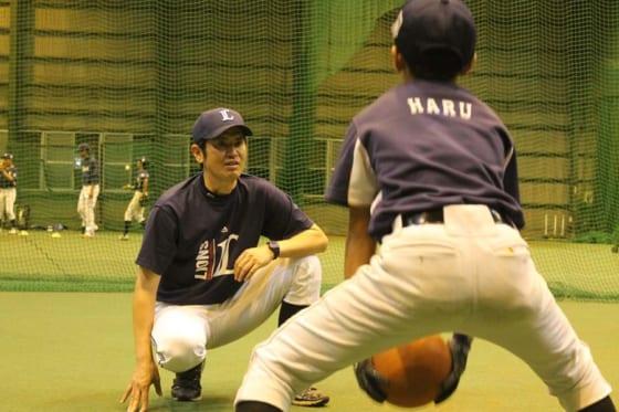 西武のアカデミーコーチを務める吉見太一さん【写真提供:埼玉西武ライオンズ】