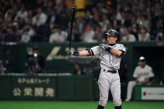 現役引退を表明したマリナーズ・イチロー【写真:Getty Images】
