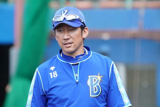 開幕投手を7度務めたDeNA・三浦大輔コーチ【写真:荒川祐史】