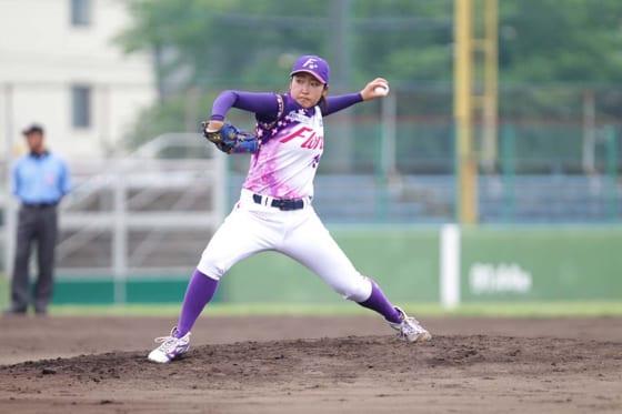 京都フローラ・植村美奈子【写真提供:日本女子プロ野球リーグ】