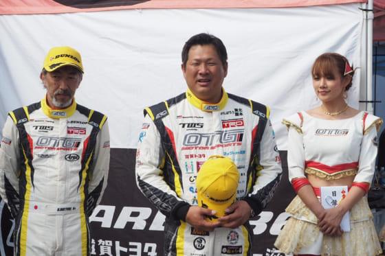 19日に宮城・村田町のスポーツランドSUGOで行われたレース大会に参加した山崎武司氏【写真提供:ジーエー・リンク】
