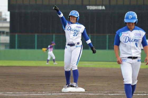 愛知ディオーネ・金城妃呂【写真提供:日本女子プロ野球リーグ】