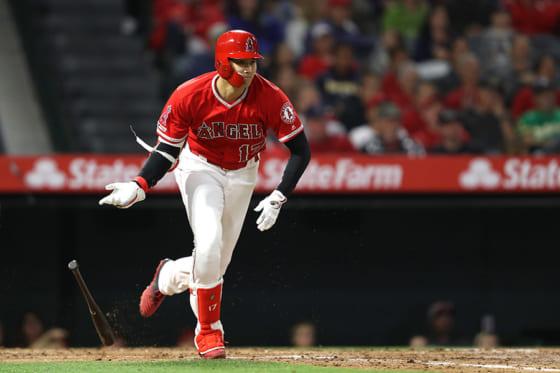 第2打席で右前打を放ち3試合連続安打をマークしたエンゼルス・大谷翔平【写真:Getty Images】
