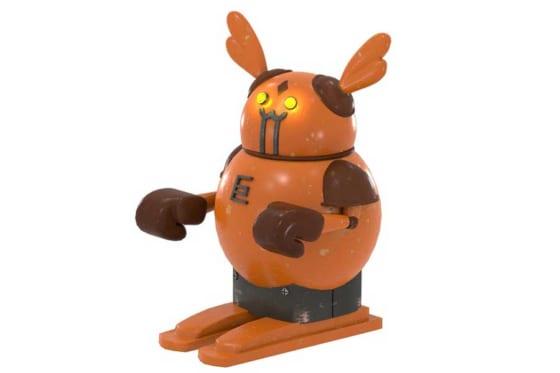 巨人との交流戦ポスターに登場するウサギ型ロボットの詳細をロッテが発表【写真提供:千葉ロッテマリーンズ】