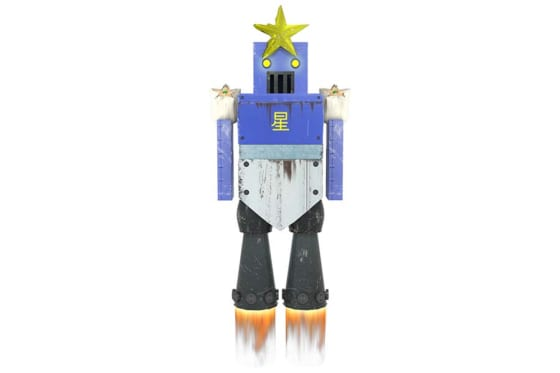 ロッテが発表した星型ロボット【写真提供:千葉ロッテマリーンズ】