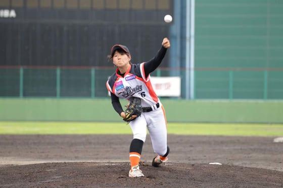 埼玉アストライア・水流麻夏【写真提供:日本女子プロ野球リーグ】