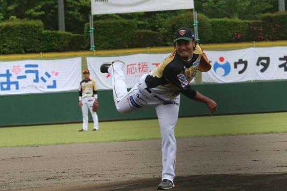 ドジャースに移籍するBC栃木の北方悠誠【写真:工藤慶大】