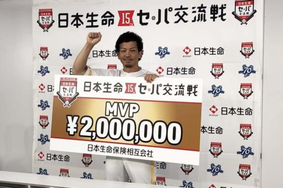 交流戦MVPに輝いたソフトバンクの松田宣浩【写真:福谷佑介】