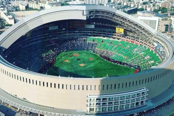 6月30日、ホークス主催の音楽フェスティバルが行われる福岡ヤフオク!ドーム【写真:編集部】